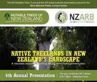 6th Annual Tāne Mahuta Public Lecture - 1 October 2015, Nelson