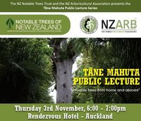 Auckland Conference 3-5 Nov 2016 & 7th Annual Tāne Mahuta Public Lecture